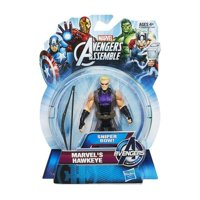Marvel Avengers Assemble Marvels Hawkeye with Sniper Bow Action Figure