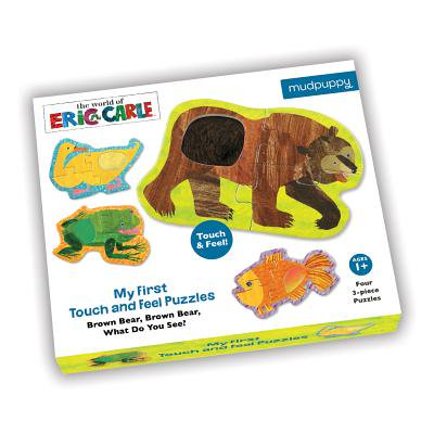 My First Touch & Feel World of Eric Carle(TM) Brown Bear, Brown Bear What do you See? Puzzles