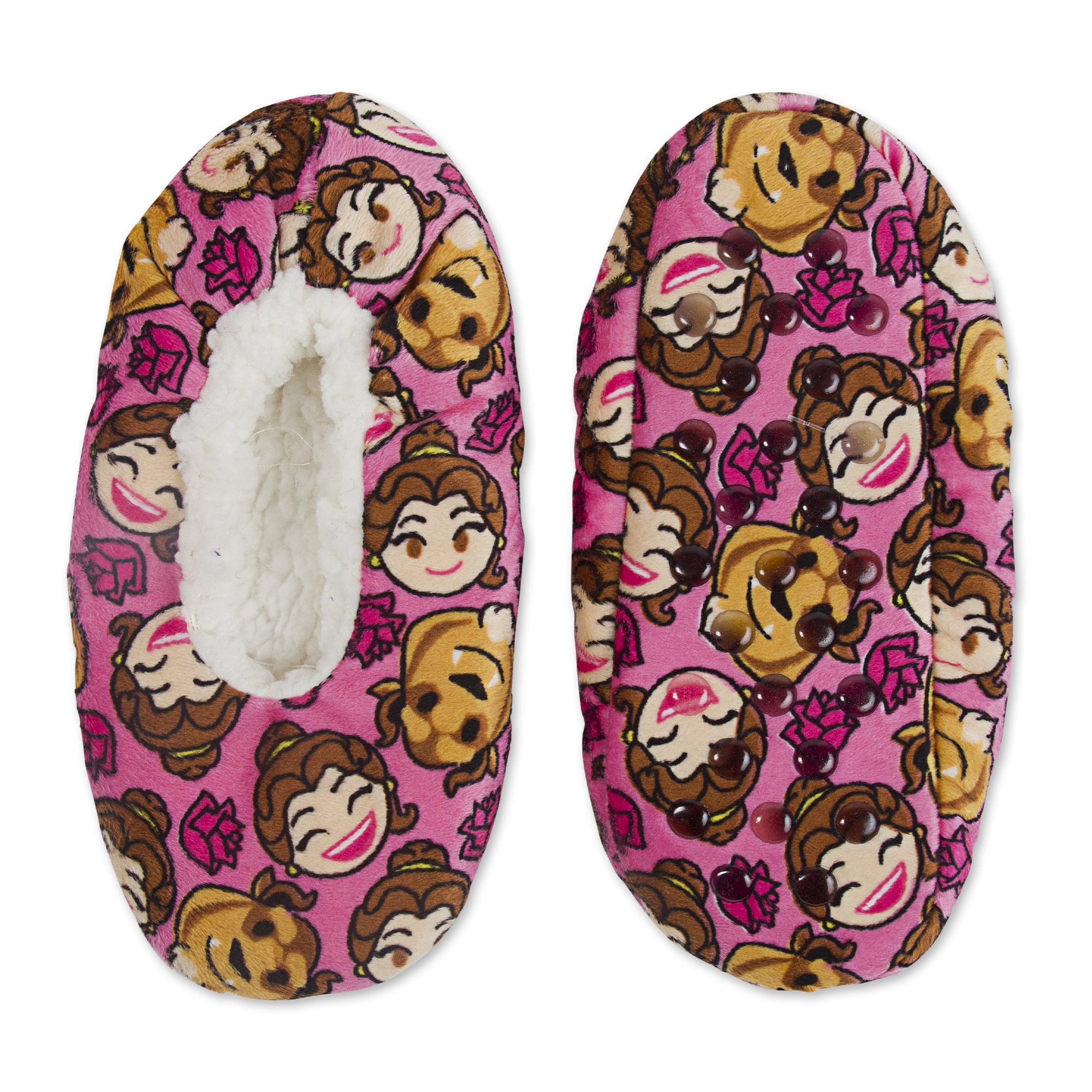 Girls' Beauty and the Beast Fuzzy Babba Socks