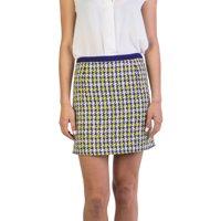 970fd0711f9c Product Image Miu Miu Women s Cotton Blend Tweed Skirt Blue