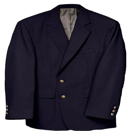 Mens Classic Single - Edwards Garment Men's Classic Two Button Single Breasted Blazer, Style 3500