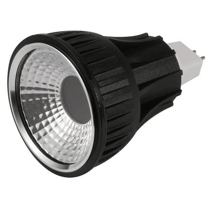 Black Mr16 Lamps - Unique Bargains Black MR16 Base PAR20 COB Lamp Housing COB Light Shell with Milky-White Len