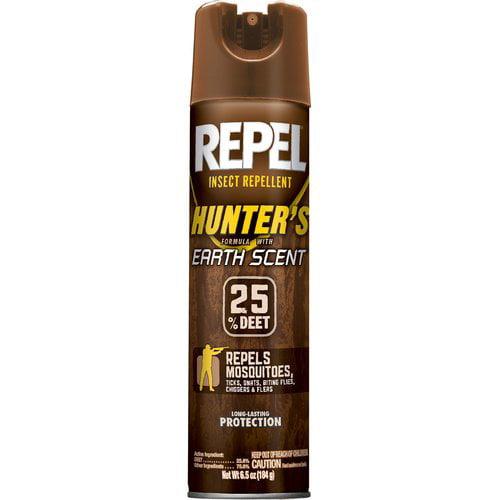 Repel Insect Repellent Hunter's Earth Scent Aerosol, 6.5-Ounce