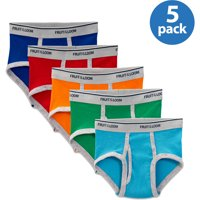 5 Pack Fruit of the Loom Toddler Boys Boxer Briefs