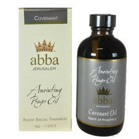 Abba Products 170658 4 oz Covenant Anointing Oil
