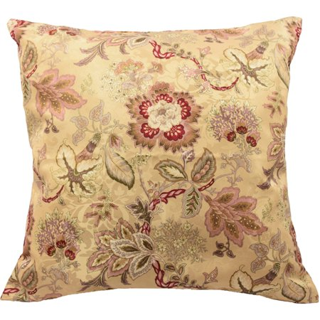 Decorative Pillows Set Of 2 : Traditions by Waverly Navarra Floral Decorative Pillows, Set of 2 - Walmart.com