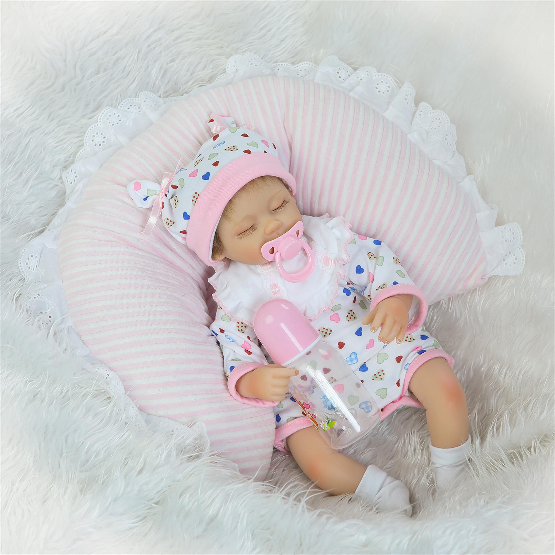 Npk Collection Reborn Baby Doll Soft Silicone Vinyl 18inch