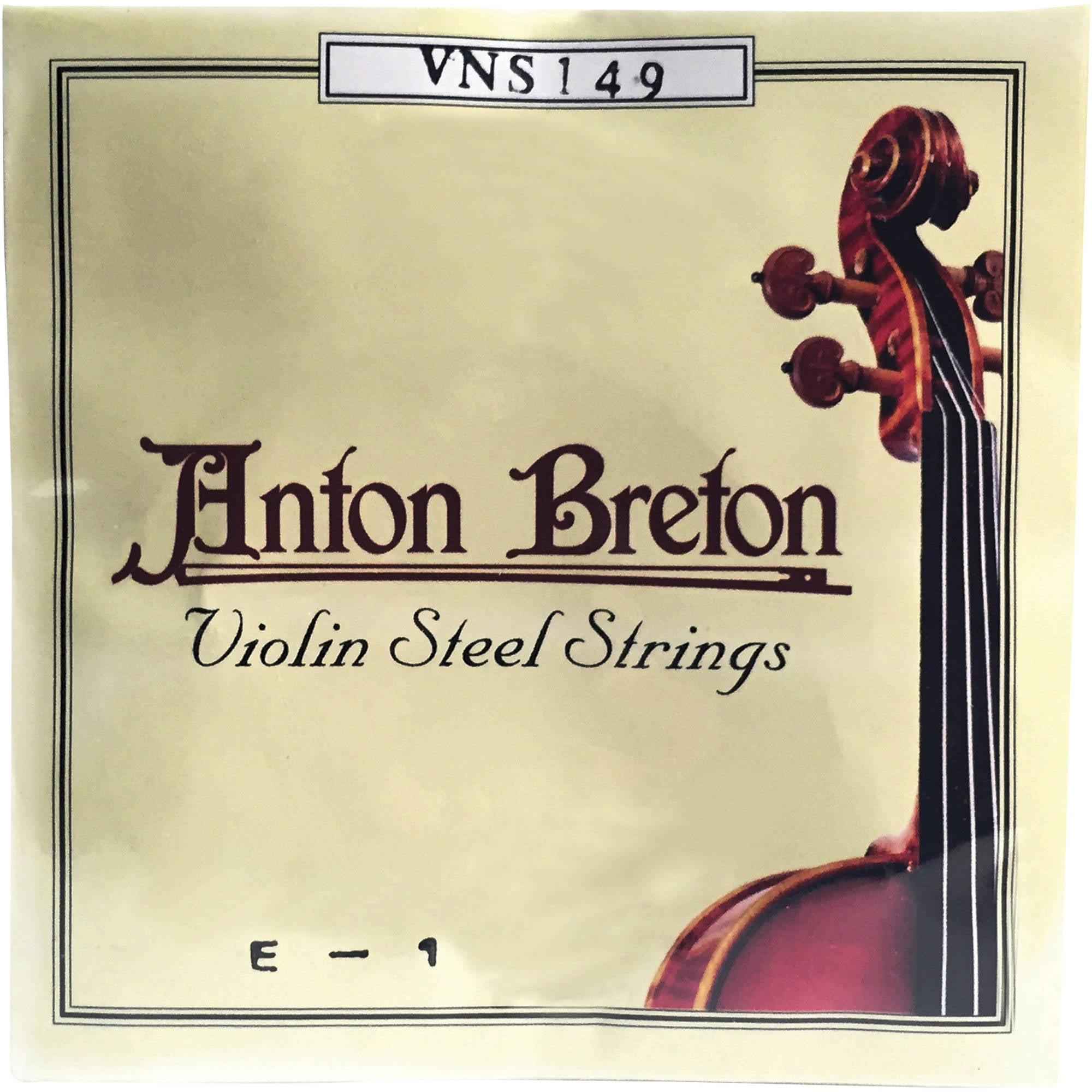 Anton Breton VNS-149 Standard Violin Strings, 4 4 Size by Anton Breton