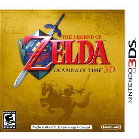 Zelda: Ocarina Of Time (Nintendo 3DS) - Pre-Owned (Legend Of Zelda Ocarina Of Time 3ds Guide)