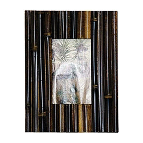 Bamboo54 Bamboo Picture Frame in Fence Dark