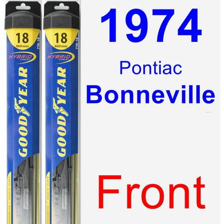 1974 Pontiac Bonneville Wiper Blade Set/Kit (Front) (2 Blades) -
