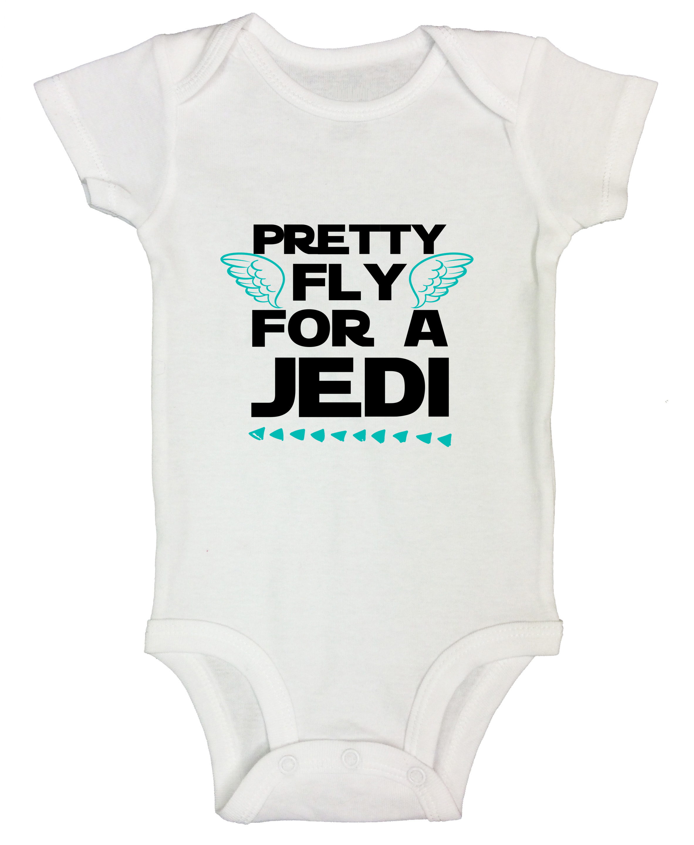 Pretty Fly for a Jedi Kids T-shirt Children Top Toddler Top Star Wars Inspired