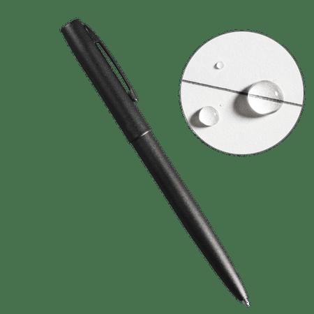 Rite in the Rain Weatherproof Black Metal Clicker Pen - Black Ink (No. 97)