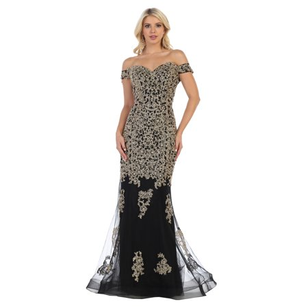 PROM DANCE OFF THE SHOULDER GOWN (Dance Prom Gown)