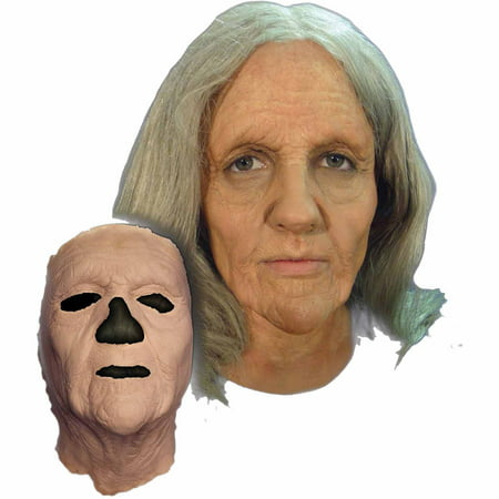 Old Woman Foam Latex Face Adult Halloween Accessory