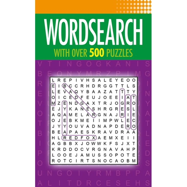 Wordsearch: With Over 500 Puzzles (Paperback)