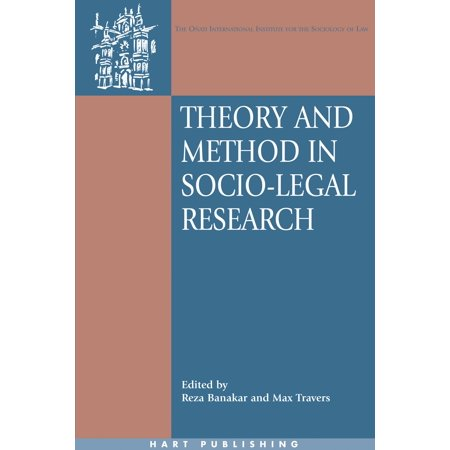 Theory and Method in Socio-Legal Research - eBook