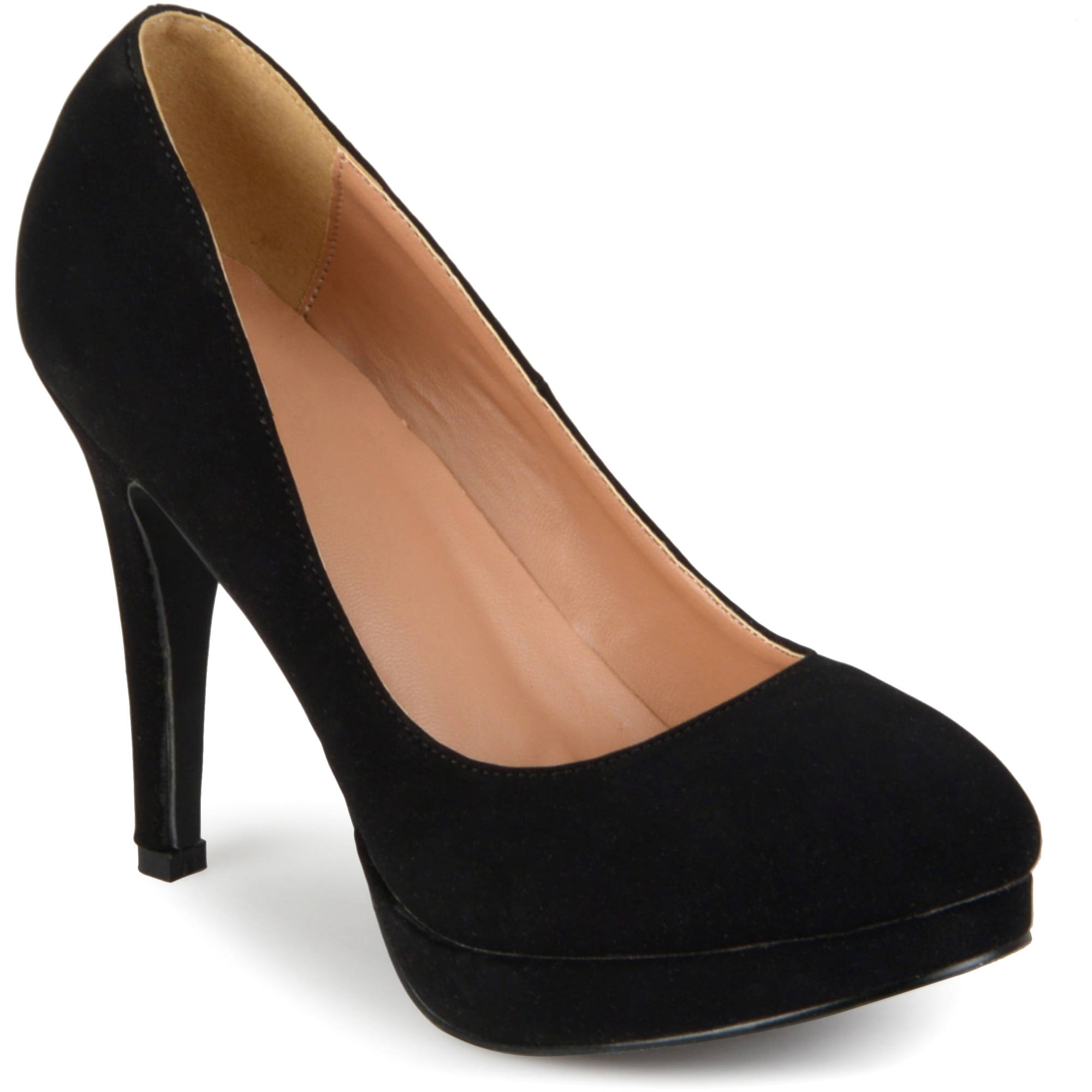 Brinley Co. Womens Round Toe Platform Pumps