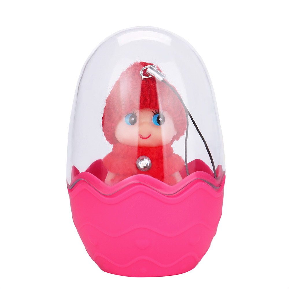 DZT1968 Creativity Colorful Girl Doll Egg Simulation Doll Model Surprise Storage Toy