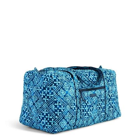 Vera Bradley Large Duffel Travel Bag Cuban Tiles 15460g03
