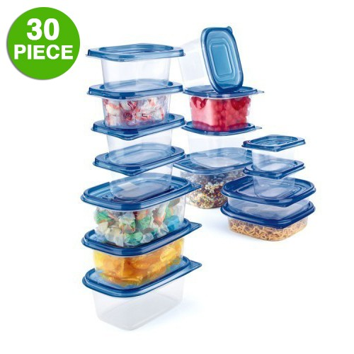 Home Collections 30-Piece Heavy Duty Storage Container Set