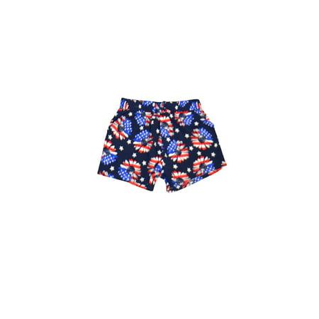 Baby Toddler Girl Americana Shorts