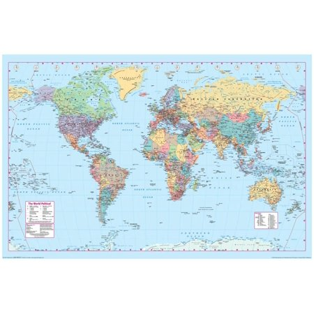 World Map 2 Poster - 36x24 2 Old World Map