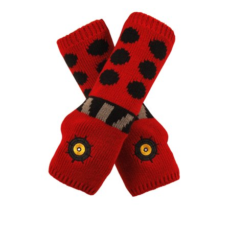 Doctor Who Dalek Adult Costume Arm Warmers One Size