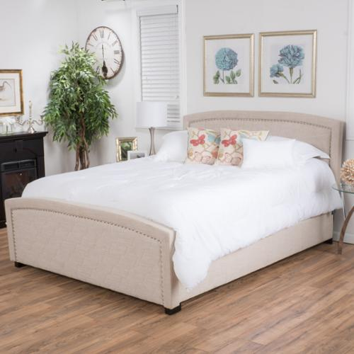 Roma Fully Upholstered Queen Bed