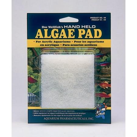 - API Fishcare 44 Hand Held Algae Pad For Acrylic Aquarium