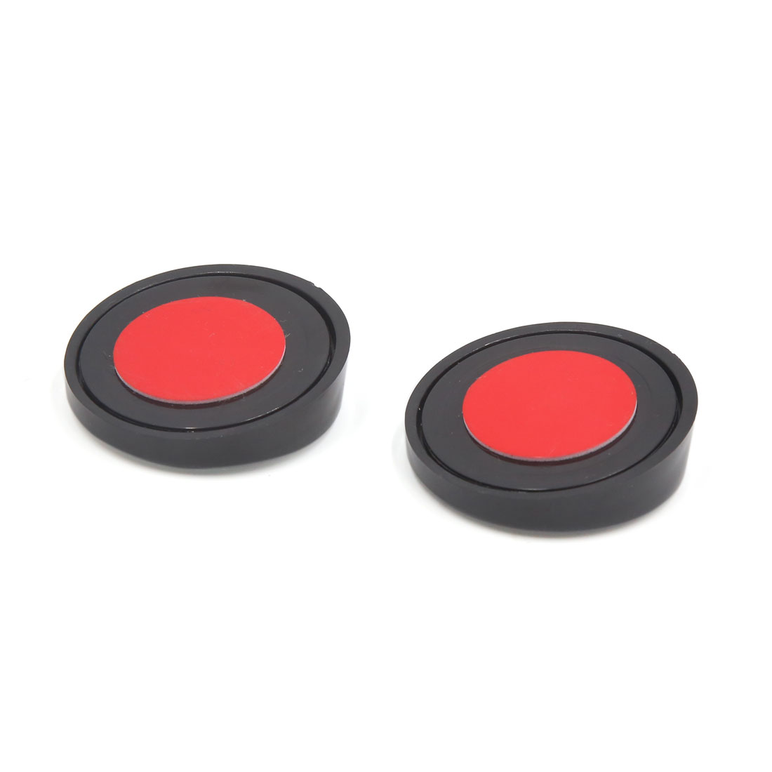 Pair 50mm Black Round Convex Wide Angle Rear View Blind Spot Mirror for Car SUV - image 1 of 2