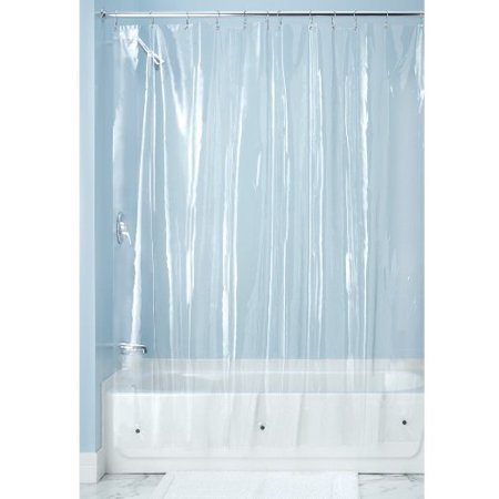 Interdesign X Long Shower Curtain Liner Clear