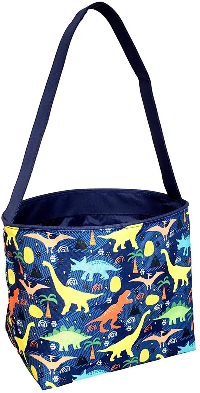beach bag Easter basket Dinosaur scenes tote purse