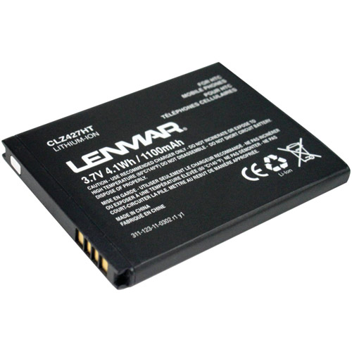Lenmar CLZ427HT Replacement Battery for HTC My Touch, ThunderBolt 4G Cellular Phones