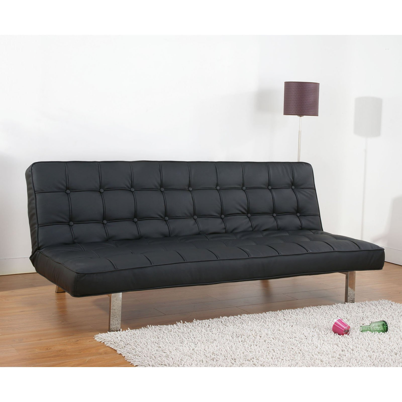 Gold Sparrow Vegas Convertible Futon Sofa