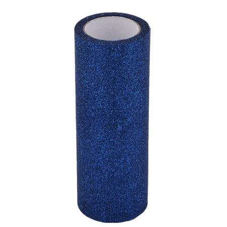 Home Polyester Tutu Gift Packing Tulle Spool Roll Dark Blue 5.9 Inch x 10 Yards - Navy Tulle