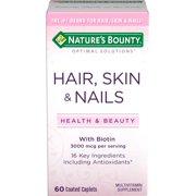 Nature's Bounty® Optimal Solutions Hair, Skin & Nails Formula, 60 Tablets