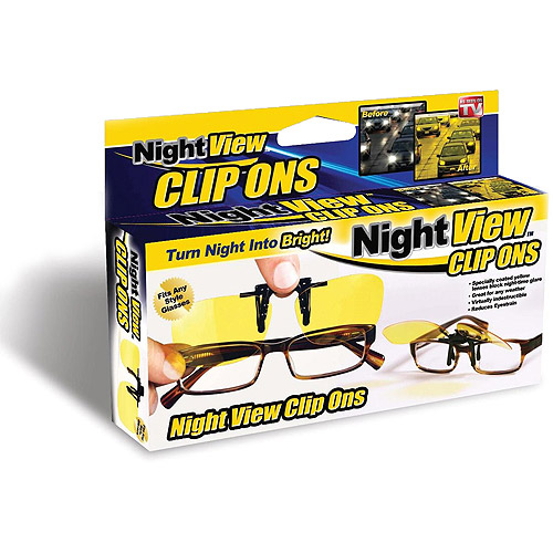 As Seen on TV Nite View Clips, Yellow