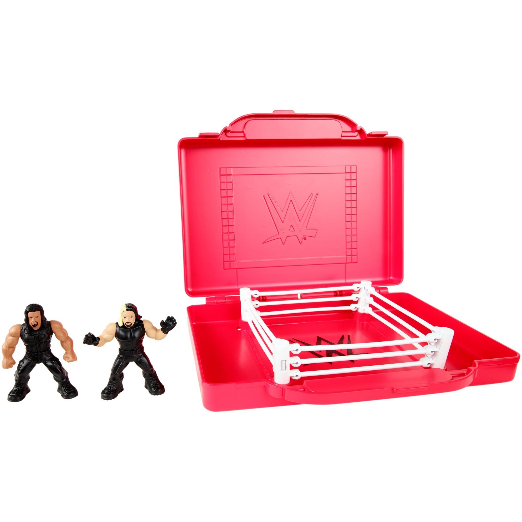 WWE Mighty Minis Portable Ring Playset by