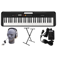 Casio CT-S200 PPK 61-Key Premium Keyboard Pack with Stand, Headphoness & Power Supply