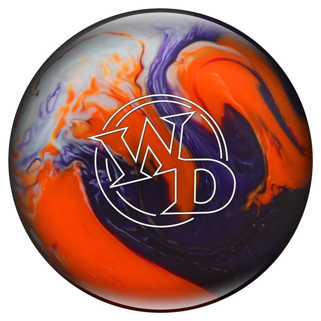 White Dot PRE-DRILLED Bowling Ball- Crystal Sunset (6lbs)