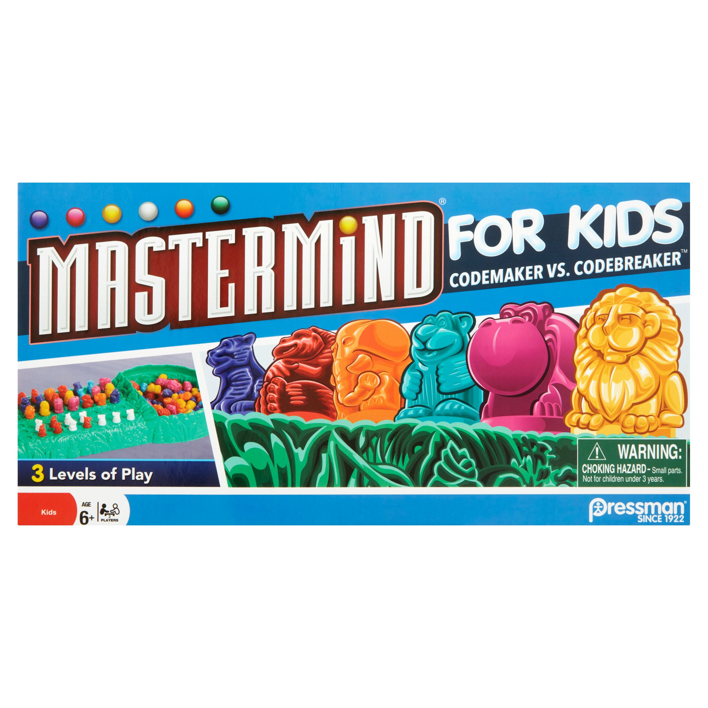 Pressman Mastermind for Kids Codemaker vs. Codebreaker Toy Age 6+