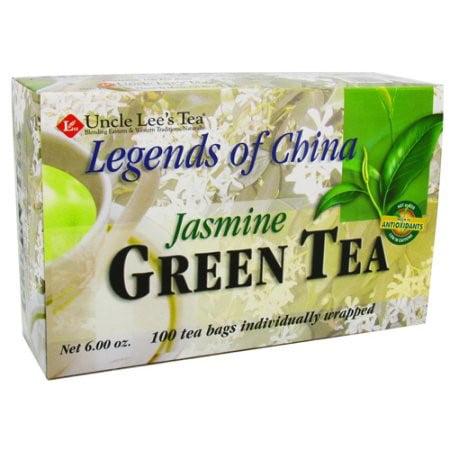Légendes de la Chine Thé au jasmin thés de l'oncle Lee, 100 Ct