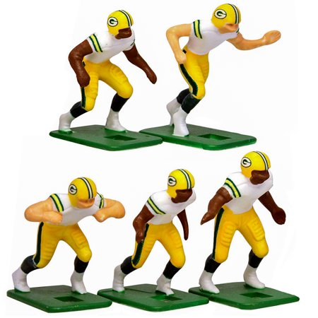 Green Bay Packers White Uniform Action Figures Set - No Size - Packers Uniforms