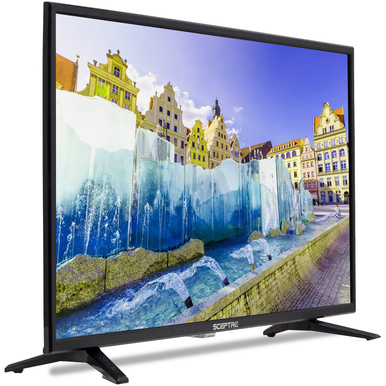 sceptre 32 hd 720p led lcd tv flat screen monitor with 2 hdmi and usb wallmount auctions buy. Black Bedroom Furniture Sets. Home Design Ideas
