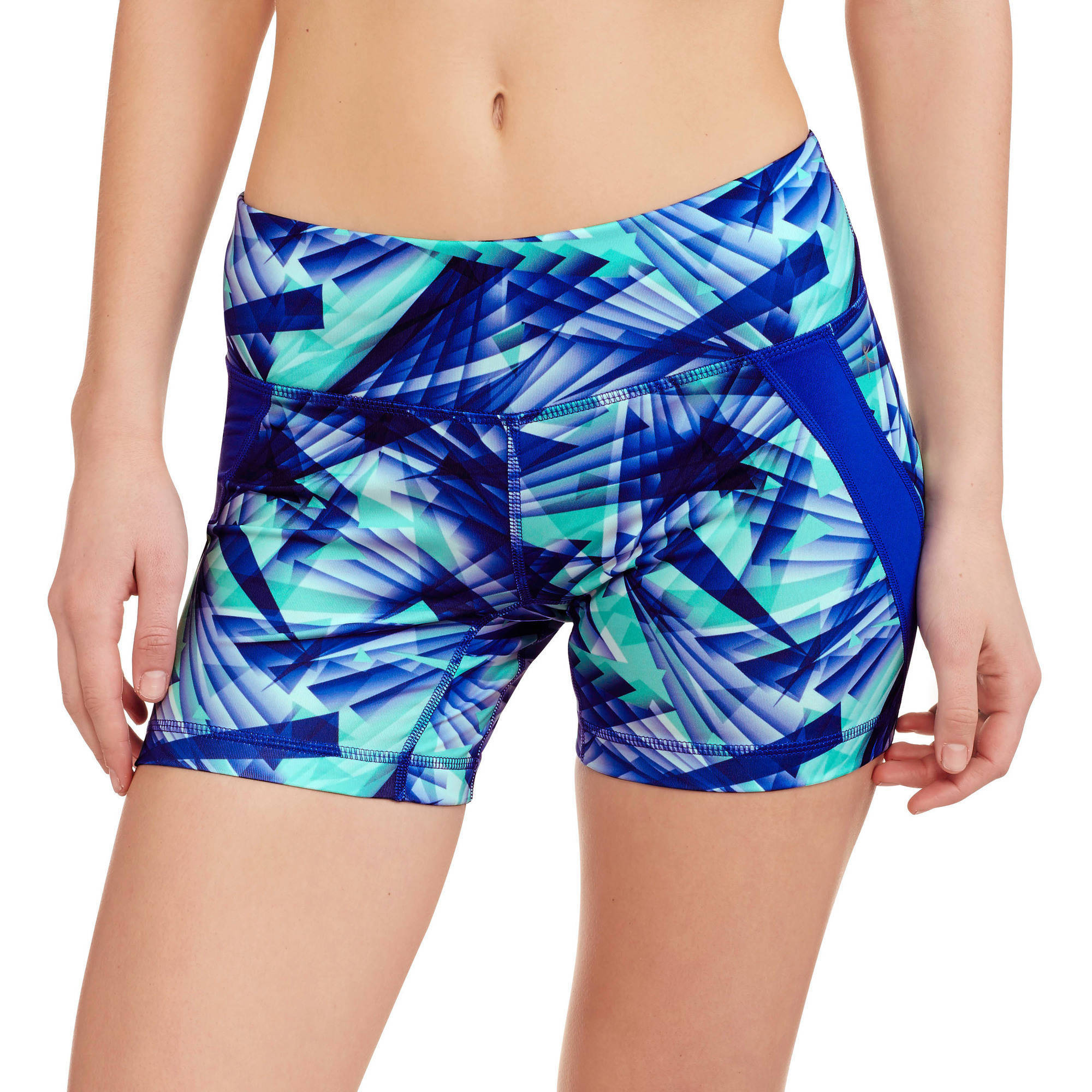 Danskin Now Women's Printed Performance Bike Short