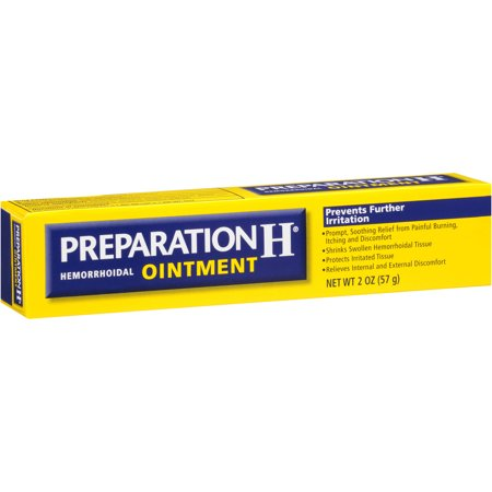 Preparation H Ointment Hemorrhoidal Ointment, 2 oz - Walmart.com