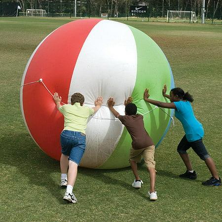 8' Jumbo Beach Ball (Black Beach Ball)