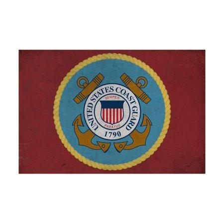 United States Coast Guard - Military - Insignia Print Wall Art By Lantern (Print Guard)