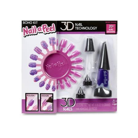 Nail-a-l Starter Kit- Boho Kit on at home tattoo kits, at home shellac kits, at home waxing kits, at home spa kits, at home gel kits, at home nail desk, at home nail design ideas,